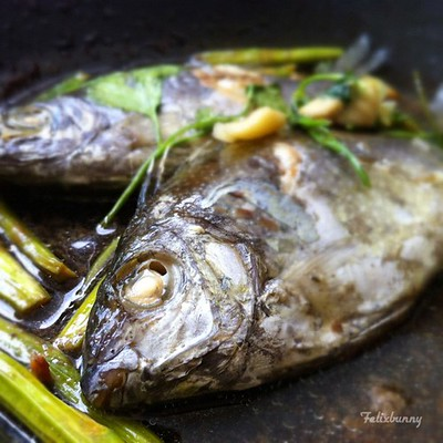 Rabbitfish in Chinese New Year